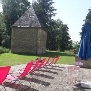 Terrasse basse du Moulin du Loison